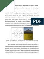 Struktur Geologi Dan Kaitannya Dengan Kegiatan Vulkanisme