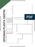 Plano Area de Oficinas Planta Baja