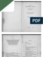 Georg Lukács - The Historical Novel. Tr. Hannah & Stanley Mitchell