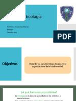 Unidad II Ecología