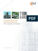 RVT 2010 Ammonia Recovery_ Ammonia Removal From Liquids and Gases