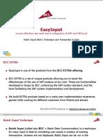 BCC EasyInput Sales 7 en BatchInput Transaction Script 20141113