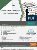 new principal guide hcm