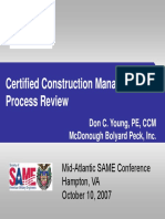 CCM Certification Overview