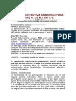 Acta Constitutiva-empresa Ficticia