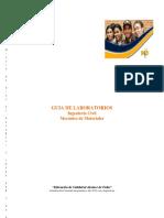 G1-Primer Corte Tracción Para Materiales Metálicos (NTC 2-1995) Acero