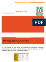 Desulfuracion Del Gas Natural