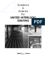 Unistrut United Interlock Grating Faq