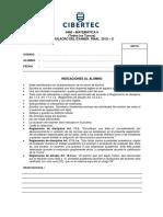 Modelo Del Examen Final (MEF)