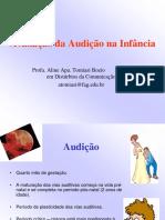 Av Auditiva Na Infancia