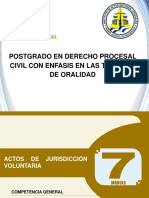 7 Tema 1 Actos de Jurisdiccion Voluntaria