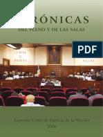 Cronicas Del Pleno y Las Salas 2006-SCJN