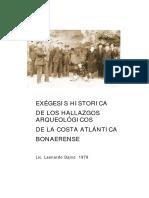 Daino Leonardo - Exegesis Historica de los Hallazgos Arqueologicos de la Costa Atlantica Bonaerense.pdf