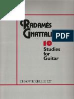 Gnattali - 10 Studies for Guitar_ALMEIDA_gtr