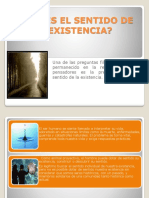 CUÁLESELSENTIDODELAEXISTENCIA.pps