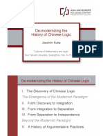 Kurtz = De-modernizing the History of Chinese Logic