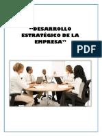 Desarrollo Estratégico de La Empresa Valentina (1)
