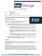 AL Senate Update