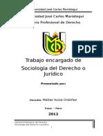 Cuestionario de Sociologia