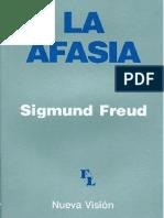 La Afasia Sigmund Freud PDF