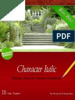 Character Italic - Basic Print