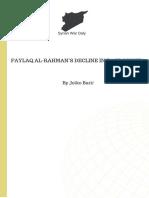 Faylaq Al-Rahman's Decline in East Ghouta