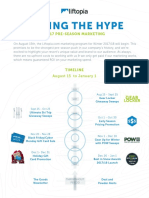 Feeding the Hype 2017 Pre-Season Marketing - Liftopia