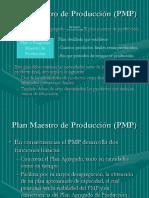 Plan Maestro de Produccion PMP