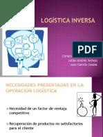 Presentación universitaria sobre logistica inversa
