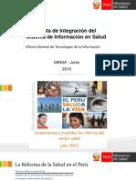 Sistema Integrado de Informacion Sismed Ogti 20160705