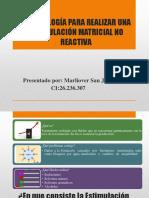 Metodología Para Realizar Una Estimulación Matricial No Reactiva