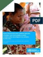 OMS - Apoio Psicossocial Para Mulheres Grávidas e Famílias Com Microcefalia