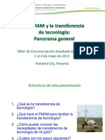 4.1 Technology Transfer Spanish Panama