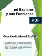 Internet Explorer y Sus Funciones