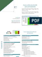 MappingGIS Programa Curso ArcGIS Para Principiantes