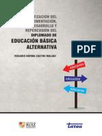 Sistematizacion Diplomado Educación Básica Alternativa Tarea