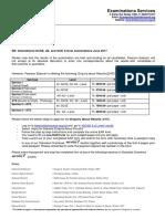 Recheck-remark Information Letter June 2017