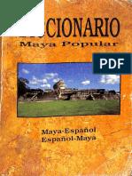 Diccionario Maya Popular 2007