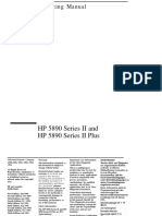 HP 5890 Series II Plus Manual