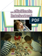 Deficiencia Intelectual