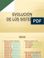 Tipos de Sistemas Operativos y Su Evoluciòn