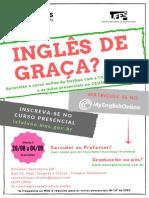 Cartaz SM Ingles Gratis