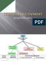 4. Statistik Multivariat (Dr. Hadi)