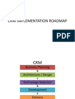 CRM Implementation Road map