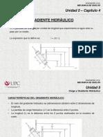 5.4 Carga Hidráulica y Gradiente (MSD) (1)