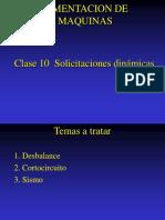 Clase 10 Solicitaciones Dinámicas Más Comunes en Maquinaria19
