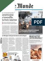 Le Monde - Jeudi 12 Aout 2010 - 12/08/2010 - 2010/12/08