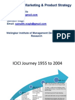 ICICI_Marketing Strategy & Products