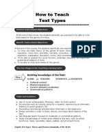 How to Teach Text Types