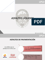 SESIÓN N°05 - ASFALTOS LÍQUIDOS